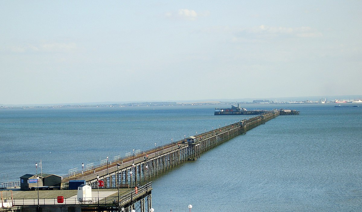 Southend Pier Saved By Pee