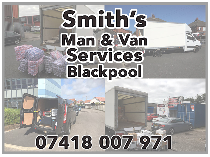 Smiths man and Van