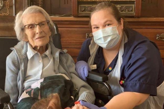 Coronavirus Hope as Britain's Oldest Survivor Leaves Hospital